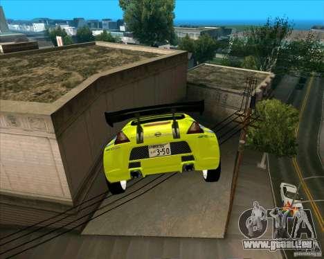 Nissan 370Z für GTA San Andreas rechten Ansicht