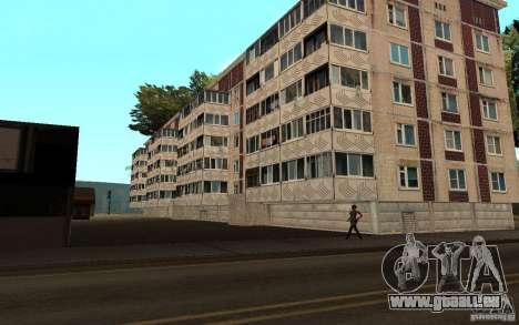 Une petite ville russe sur la rue Grove pour GTA San Andreas deuxième écran