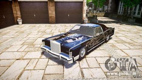 Lincoln Continental Town Coupe v1.0 1979 pour GTA 4