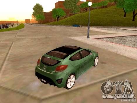 Hyundai Veloster Turbo v1.0 pour GTA San Andreas vue de côté