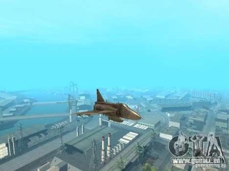 Saab JA-37 Viggen für GTA San Andreas