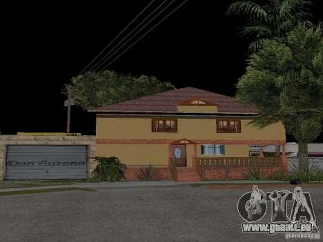 CJ maison nouvelle pour GTA San Andreas