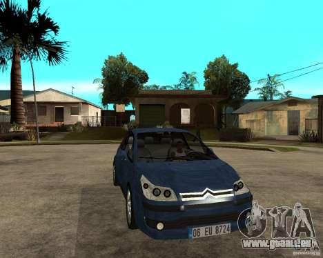 Citroen C4 SX 1.6 HDi für GTA San Andreas Rückansicht