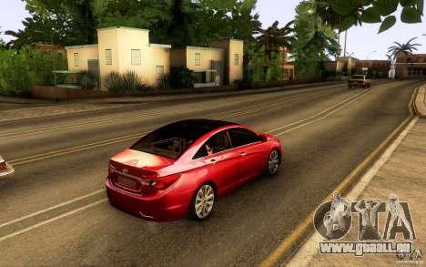 Hyundai Sonata 2011 für GTA San Andreas Innenansicht