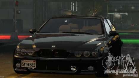BMW M5 E39 BBC v1.0 für GTA 4 obere Ansicht