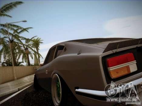 Nissan 280 Fairladyz 4.32 für GTA San Andreas Innenansicht