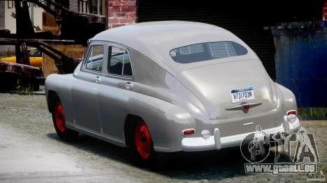 GAS M20V gewinnen amerikanische 1955 v1. 0 für GTA 4 hinten links Ansicht