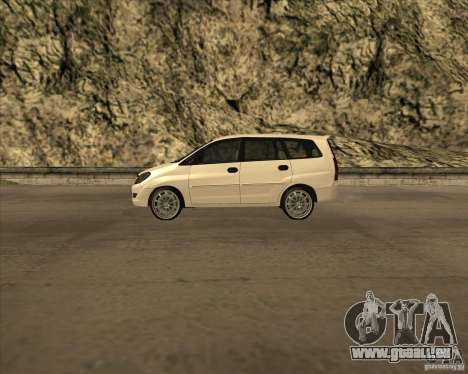 Toyota Innova pour GTA San Andreas laissé vue