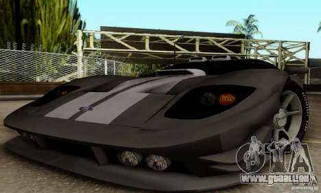 Ford GT Tuning pour GTA San Andreas vue arrière
