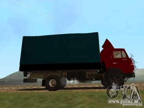 KAMAZ 5325 pour GTA San Andreas laissé vue