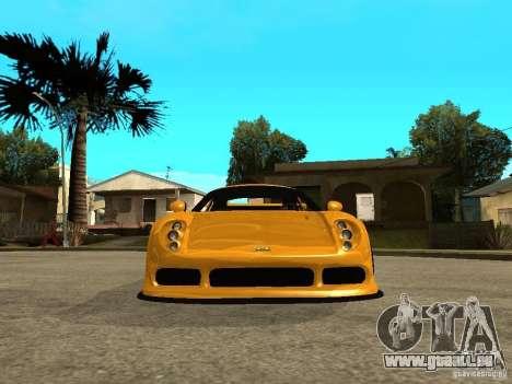 Noble M12 GTO Beta pour GTA San Andreas vue de droite