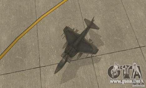 AV-8 Harrier pour GTA San Andreas vue de droite