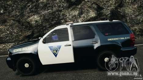 Chevrolet Tahoe Marked Unit [ELS] pour GTA 4 vue de dessus