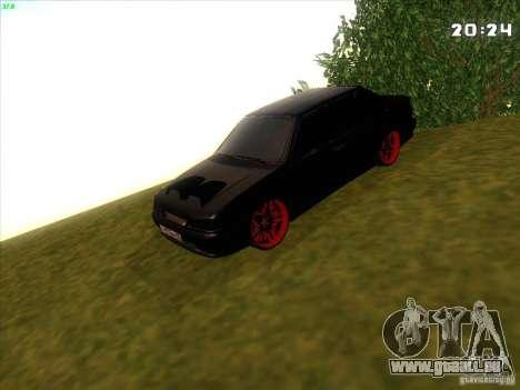VAZ 2115 diable Tuning pour GTA San Andreas vue arrière
