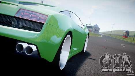 Lamborghini Gallardo LP 560-4 DUB Style pour GTA 4 Vue arrière