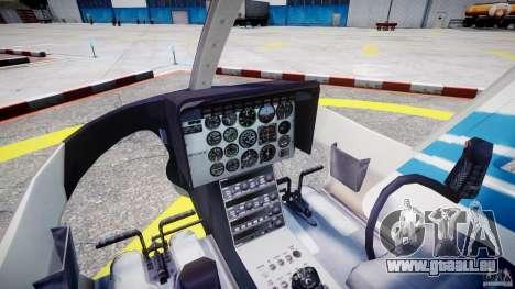 Bell 206 B - Chicago Police Helicopter für GTA 4 rechte Ansicht