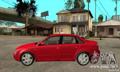 Audi S4 2004 für GTA San Andreas linke Ansicht