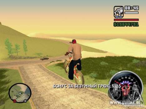 Speed Udo für GTA San Andreas sechsten Screenshot