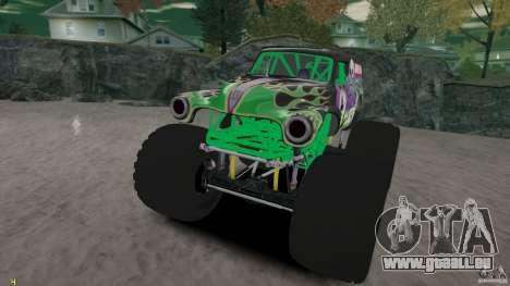Grave digger pour GTA 4 est un côté