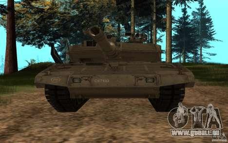 Leopard 2a7 für GTA San Andreas Rückansicht