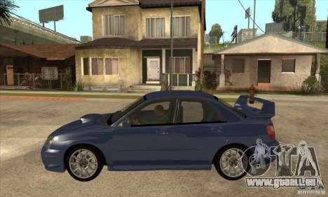 Subaru Impreza WRX STi - Stock für GTA San Andreas linke Ansicht