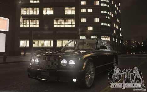 Bentley Arnage T v 2.0 für GTA 4 rechte Ansicht