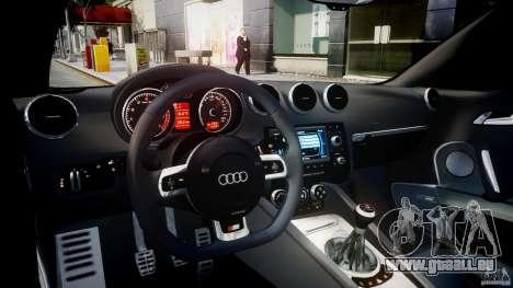 Audi TT RS Coupe v1.0 pour GTA 4 est un droit