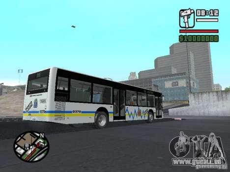 Onibus pour GTA San Andreas vue intérieure