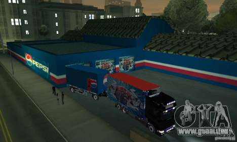 Pepsi Market and Pepsi Truck für GTA San Andreas dritten Screenshot