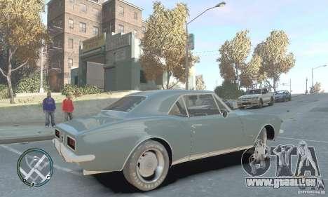 Chevrolet Camaro SS 1969 pour GTA 4 est une gauche