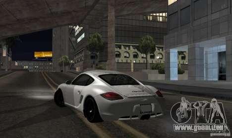 Porsche Cayman R pour GTA San Andreas laissé vue