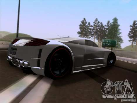 Chrysler ME Four-Twelve für GTA San Andreas rechten Ansicht