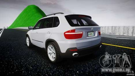 BMW X5 Experience Version 2009 Wheels 214 für GTA 4 hinten links Ansicht