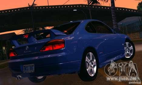 Nissan Silvia s15 tunable für GTA San Andreas Innenansicht