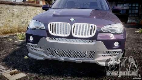BMW X5 xDrive 4.8i 2009 v1.1 für GTA 4 Innenansicht