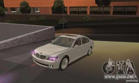 Lumières pourpres pour GTA San Andreas deuxième écran
