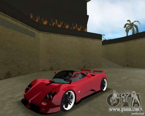 Pagani Zonda S für GTA Vice City