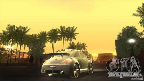 Volkswagen Beetle Tuning für GTA San Andreas Innenansicht