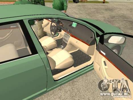 Toyota Avensis V2.0 für GTA San Andreas Rückansicht