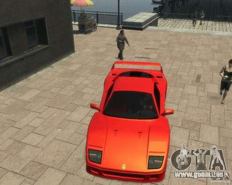 Ferrari F40 pour GTA 4 est un droit
