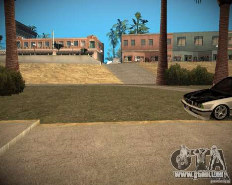 New textures beach of Santa Maria für GTA San Andreas achten Screenshot