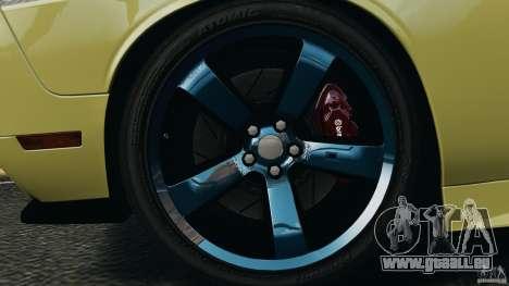 Dodge Rampage Challenger 2011 v1.0 pour GTA 4 Vue arrière