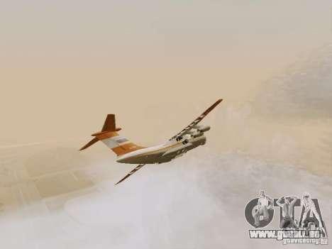 Iljuschin Il-76td für GTA San Andreas Innenansicht