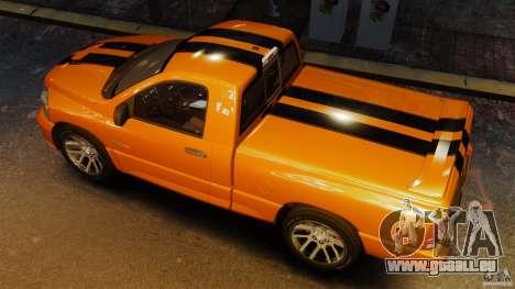 Dodge Ram SRT-10 2006 EPM pour GTA 4 est un droit