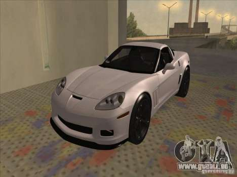 Chevrolet Corvette Grand Sport 2010 pour GTA San Andreas