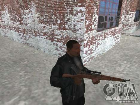 Springfield M1903 pour GTA San Andreas