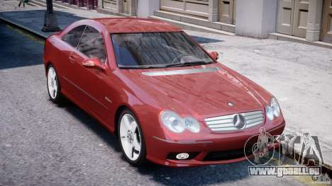 Mercedes-Benz CLK 63 AMG 2005 pour GTA 4 est un côté