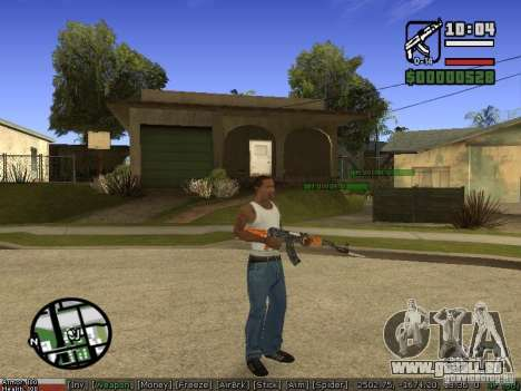 Armes de Pak pour GTA San Andreas deuxième écran