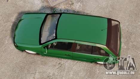 Volkswagen Gol G4 Edit pour GTA 4 est un droit