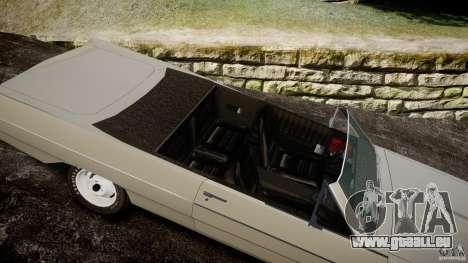 Plymouth Scamp 1971 pour GTA 4 est une vue de l'intérieur